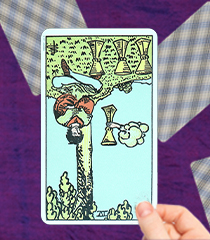 Four of Cups Tarot Card - Upright and Reversed Meanings